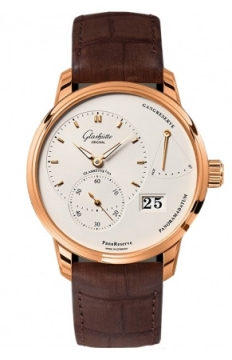 Glashutte Original PanoReserve Manual Wind 40mm Mens watch, model number - 1-65-01-25-15-05, discount price of £13,260.00 from The Watch Source