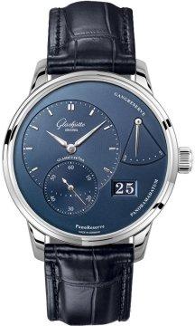 Glashutte Original PanoReserve Manual Wind 40mm 1-65-01-26-12-35 watch