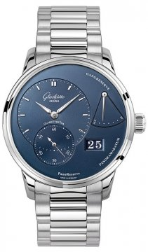 Glashutte Original PanoReserve Manual Wind 40mm 1-65-01-26-12-70 watch