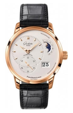 Glashutte Original PanoMaticLunar Mens watch, model number - 1-90-02-45-35-05, discount price of £12,710.00 from The Watch Source