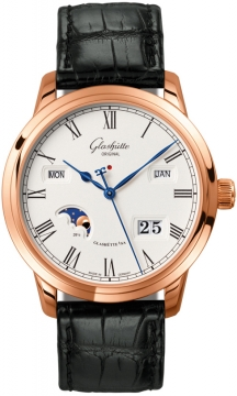 Glashutte Original Senator Perpetual Calendar Mens watch, model number - 100-02-22-05-05, discount price of £20,220.00 from The Watch Source