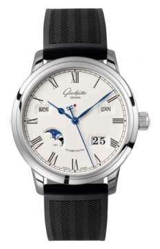Glashutte Original Senator Perpetual Calendar Mens watch, model number - 100-02-22-12-04, discount price of £12,720.00 from The Watch Source