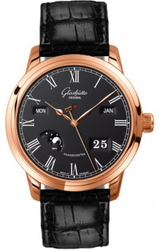 Glashutte Original Senator Perpetual Calendar Mens watch, model number - 100-02-25-05-05, discount price of £20,961.00 from The Watch Source