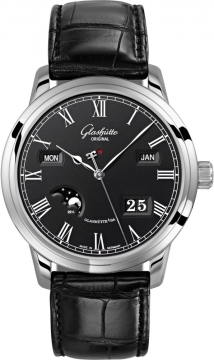 Glashutte Original Senator Perpetual Calendar Mens watch, model number - 100-02-25-12-05, discount price of £12,631.00 from The Watch Source