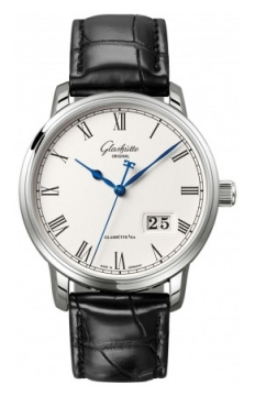 Glashutte Original Senator Panorama Date Mens watch, model number - 100-03-32-42-04, discount price of £5,450.00 from The Watch Source