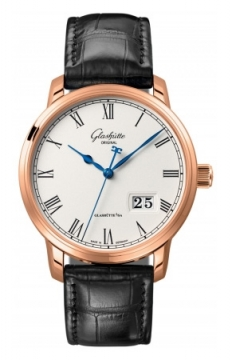 Glashutte Original Senator Panorama Date Mens watch, model number - 100-03-32-45-04, discount price of £11,970.00 from The Watch Source