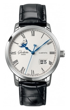 Glashutte Original Senator Panorama Date Moonphase Mens watch, model number - 100-04-32-12-04, discount price of £6,332.00 from The Watch Source
