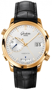 Glashutte Original Senator Diary Mens watch, model number - 100-13-01-01-04, discount price of £21,045.00 from The Watch Source