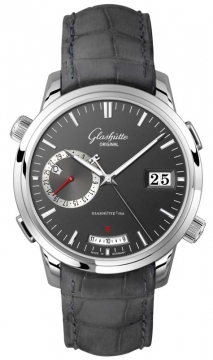 Glashutte Original Senator Diary Mens watch, model number - 100-13-04-04-04, discount price of £23,375.00 from The Watch Source