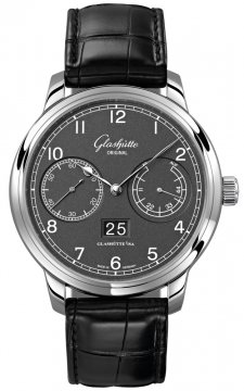 Glashutte Original Senator Observer Mens watch, model number - 100-14-02-02-04, discount price of £6,774.00 from The Watch Source