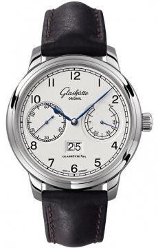 Glashutte Original Senator Observer Mens watch, model number - 100-14-05-02-05, discount price of £6,774.00 from The Watch Source