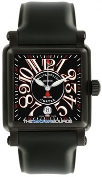 Franck Muller Conquistador Cortez Mens watch, model number - 10000 H SC SS NR Black , discount price of £6,800.00 from The Watch Source