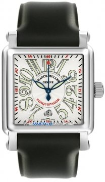 Franck Muller Conquistador Cortez Mens watch, model number - 10000 H SC SS Silver , discount price of £6,800.00 from The Watch Source