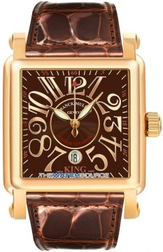 Franck Muller Conquistador Cortez Mens watch, model number - 10000 K SC RG Chocolate, discount price of £12,160.00 from The Watch Source
