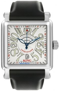 Franck Muller Conquistador Cortez Mens watch, model number - 10000 K SC SS Silver , discount price of £9,200.00 from The Watch Source