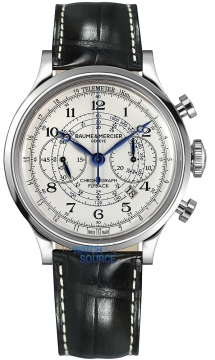 Buy this new Baume & Mercier Capeland Flyback Chronograph 44mm 10006 mens watch for the discount price of £4,535.00. UK Retailer.