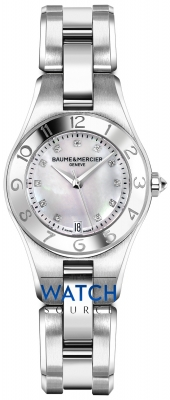 Buy this new Baume & Mercier Linea 10011 ladies watch for the discount price of £1,955.00. UK Retailer.