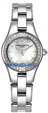 Baume & Mercier Linea Ladies watch, model number - 10013, discount price of £2,915.00 from The Watch Source