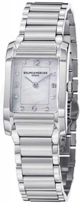 Buy this new Baume & Mercier Hampton Ladies 10050 ladies watch for the discount price of £1,932.00. UK Retailer.