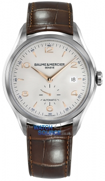 Buy this new Baume & Mercier Clifton Small Seconds Automatic 41mm 10054 mens watch for the discount price of £1,835.00. UK Retailer.