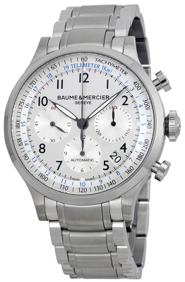 Buy this new Baume & Mercier Capeland Chronograph 44mm 10064 mens watch for the discount price of £2,600.00. UK Retailer.