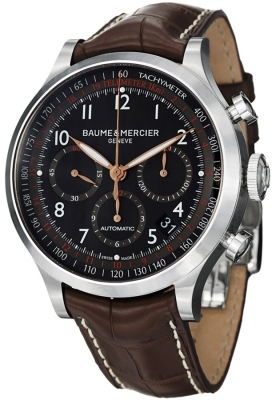 Buy this new Baume & Mercier Capeland Chronograph 44mm 10067 mens watch for the discount price of £2,975.00. UK Retailer.