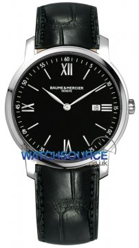 Baume & Mercier Classima Quartz 39mm Mens watch, model number - 10098, discount price of £1,045.00 from The Watch Source
