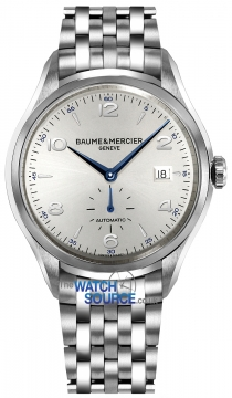 Baume & Mercier Clifton Small Seconds Automatic 41mm Mens watch, model number - 10099, discount price of £1,920.00 from The Watch Source