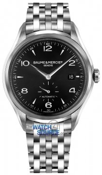Baume & Mercier Clifton Small Seconds Automatic 41mm Mens watch, model number - 10100, discount price of £1,920.00 from The Watch Source
