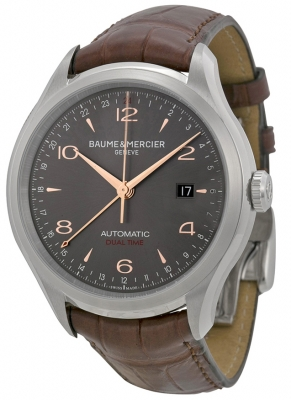 Buy this new Baume & Mercier Clifton Automatic Dual Time 43mm 10111 mens watch for the discount price of £2,210.00. UK Retailer.