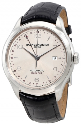 Buy this new Baume & Mercier Clifton Automatic Dual Time 43mm 10112 mens watch for the discount price of £2,210.00. UK Retailer.