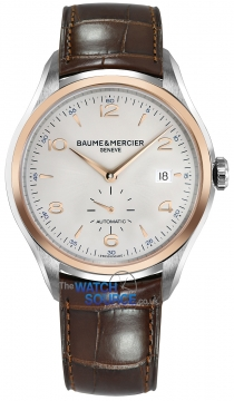 Baume & Mercier Clifton Small Seconds Automatic 41mm Mens watch, model number - 10139, discount price of £2,390.00 from The Watch Source