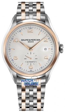 Baume & Mercier Clifton Small Seconds Automatic 41mm Mens watch, model number - 10140, discount price of £2,930.00 from The Watch Source
