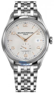 Buy this new Baume & Mercier Clifton Small Seconds Automatic 41mm 10141 mens watch for the discount price of £2,082.00. UK Retailer.