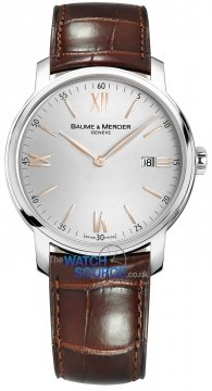 Buy this new Baume & Mercier Classima Quartz 42mm 10144 mens watch for the discount price of £1,075.00. UK Retailer.