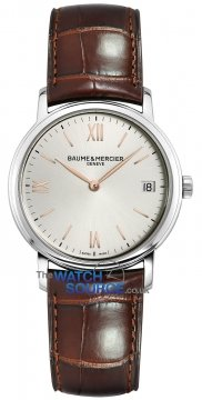Buy this new Baume & Mercier Classima Quartz 33mm 10147 ladies watch for the discount price of £935.00. UK Retailer.