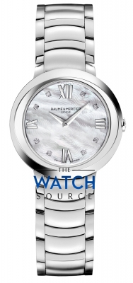 Buy this new Baume & Mercier Promesse Quartz 30mm 10158 ladies watch for the discount price of £1,870.00. UK Retailer.