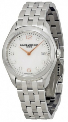 Buy this new Baume & Mercier Clifton Quartz 30mm 10176 ladies watch for the discount price of £1,870.00. UK Retailer.