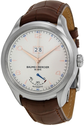 Buy this new Baume & Mercier Clifton Automatic Power Reserve 43mm 10205 mens watch for the discount price of £2,677.00. UK Retailer.