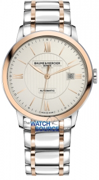 Buy this new Baume & Mercier Classima Automatic 40mm 10217 mens watch for the discount price of £2,890.00. UK Retailer.