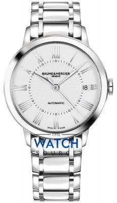 Buy this new Baume & Mercier Classima Automatic 36mm 10220 ladies watch for the discount price of £1,585.00. UK Retailer.