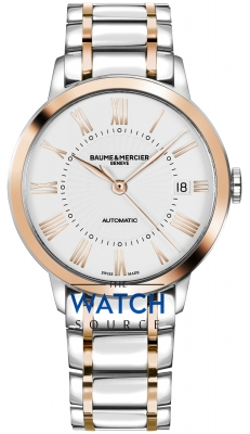 Buy this new Baume & Mercier Classima Automatic 36mm 10223 ladies watch for the discount price of £2,762.00. UK Retailer.