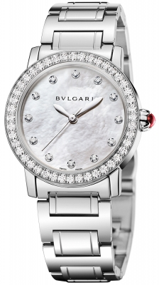 Bulgari BULGARI BULGARI Automatic 33mm bbl33wsds/12 watch