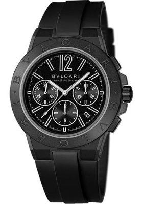 Bulgari Diagono Magnesium 42mm 102428 dg42bsmcvdch watch