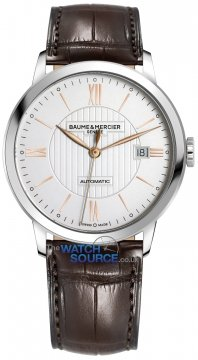 Buy this new Baume & Mercier Classima Automatic 40mm 10263 mens watch for the discount price of £1,530.00. UK Retailer.