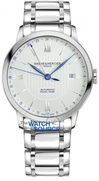 Buy this new Baume & Mercier Classima Automatic 40mm 10273 mens watch for the discount price of £1,870.00. UK Retailer.