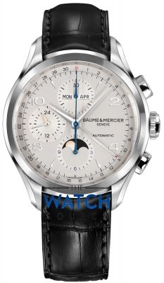 Baume & Mercier Clifton Complete Calendar Moonphase 43mm 10278