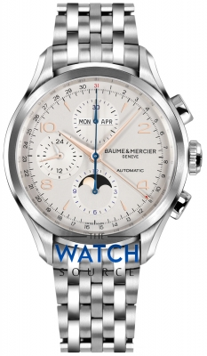 Buy this new Baume & Mercier Clifton Complete Calendar Moonphase 43mm 10279 mens watch for the discount price of £3,485.00. UK Retailer.