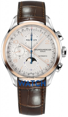 Buy this new Baume & Mercier Clifton Complete Calendar Moonphase 43mm 10280 mens watch for the discount price of £3,825.00. UK Retailer.