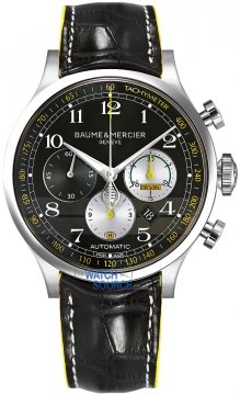 Buy this new Baume & Mercier Capeland Chronograph 44mm 10282 SHELBY COBRA 1963 mens watch for the discount price of £3,135.00. UK Retailer.